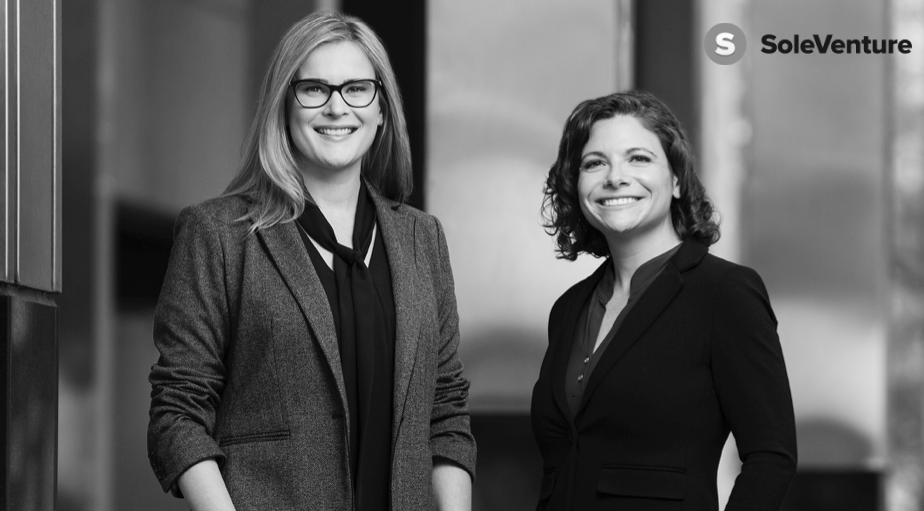 SoleVenture Co-Founders Eve Epstein and Robyn Rusignuolo